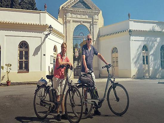 E-bike Tour en barrios de Malaga