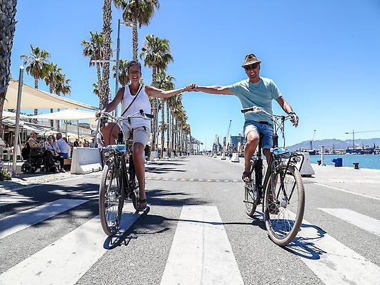 Vino y Tapas Bike Tour Puerto de Malaga