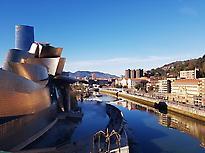 Guggenheim Bilbao from the bridge