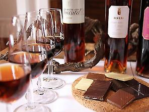 Wines with chocolates
