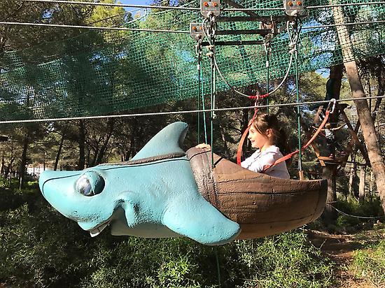 """le""""requin"""" parcours PIRATAS"""