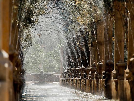 Water Jets - Jardines de Alfabia