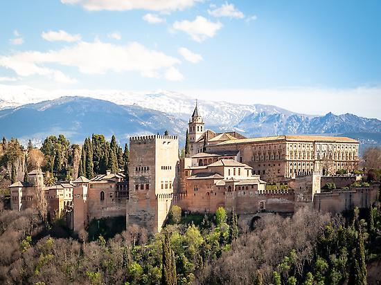 Alhambra de Granada y Sierra Nevada