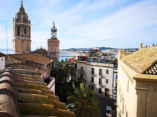 Pueblo de Sitges (Barcelona)