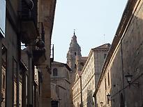 Calle Compañía en Salamanca