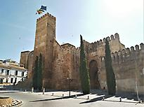 The alcazar of the Gate of Seville