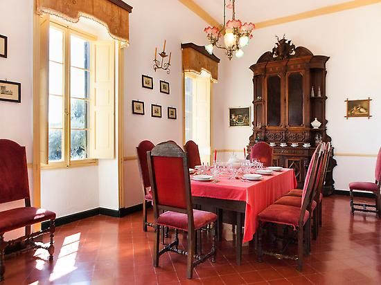 Dining room of the Manor house
