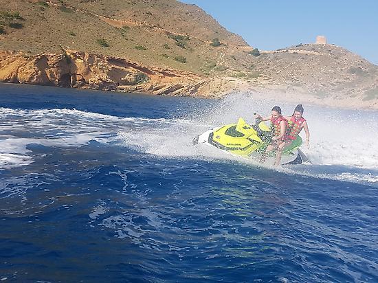 Excursion en moto de agua Sierra Helada