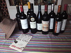 Selections of wines