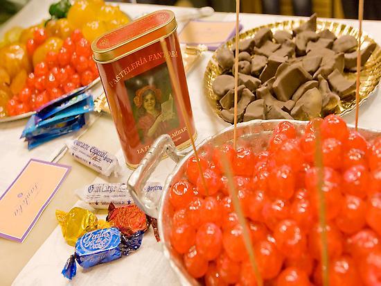 Frutas de Aragón y fruta confitada