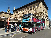 Daytime tourist bus
