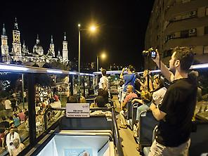 Night tourist bus