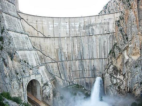 Dam of Canelles