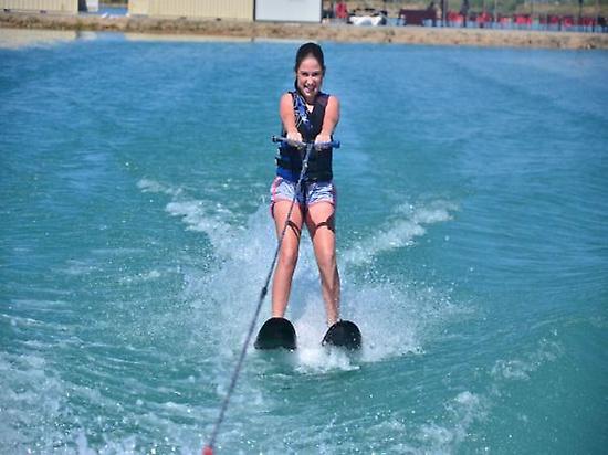 Water skiing + ultra-tube + paddle surfi
