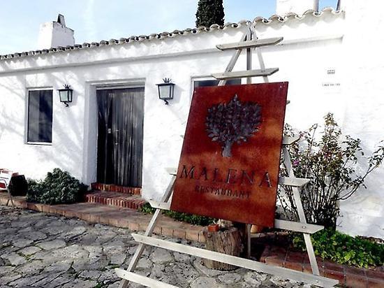 Malena Restaurant. 1 Michelin star