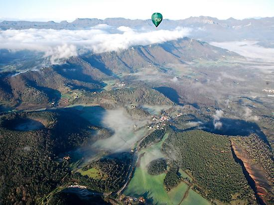 FLYING OVER LA GARROTXA NATURAL PARK