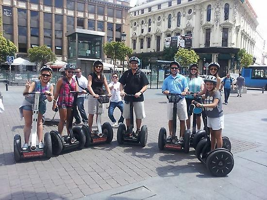 Discover Madrid on a segway