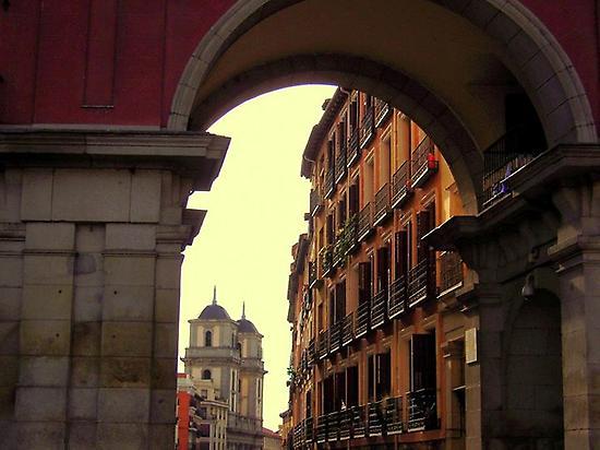 Alrededores de las calles de Madrid