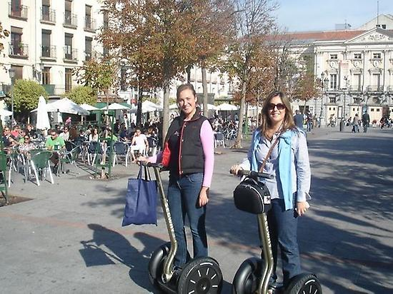 Segway tour with friends