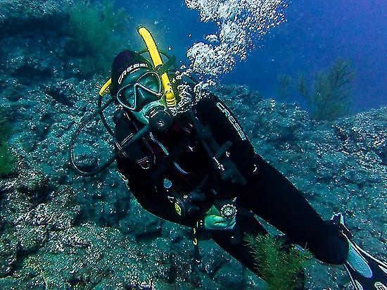 Iniciación al buceo en Puerto de Naos
