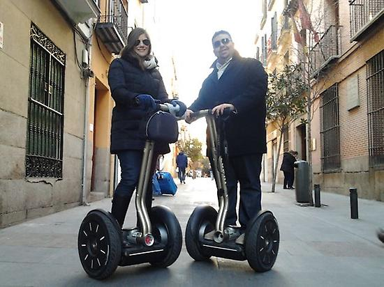 Segway tour in Spanish Capital
