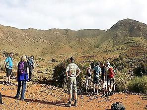 Geological hiking in Rodalquilar