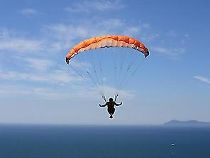 Paramotoring over Almeria`s Coast