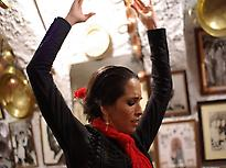 FLAMENCO SHOW AT SACROMONTE CAVES