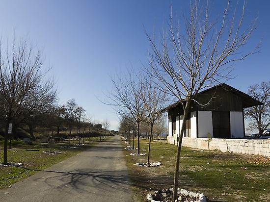 Old train station of Doña Mencía.