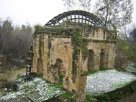Abandoned watermill