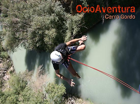Bungee jumping in Andalusia
