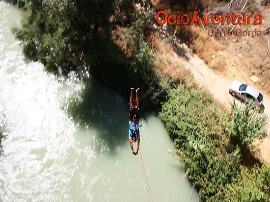 Bungee jumping near Malaga and Granada