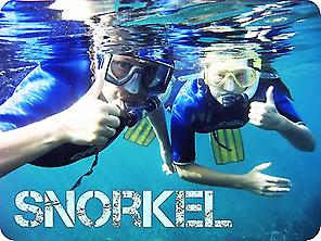 Snorkel in the seabeds of Areoso islet