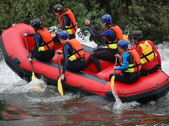 Special hen and stag parties in rafting
