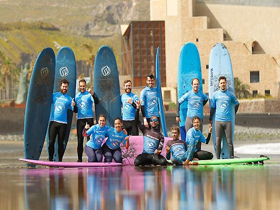 Learn to Surf in Gran Canaria