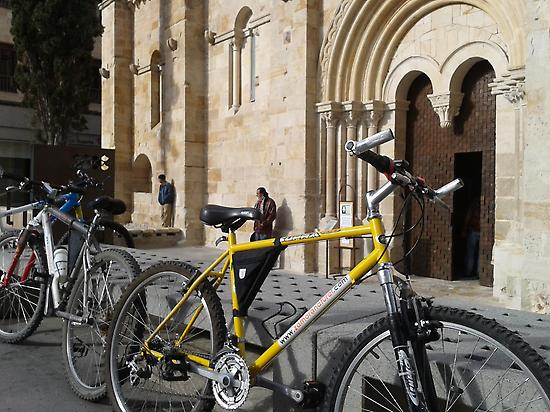 ZAMORA ROMANICO IN BICYCLE