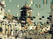 Foire août en l'honneur de San Miguel