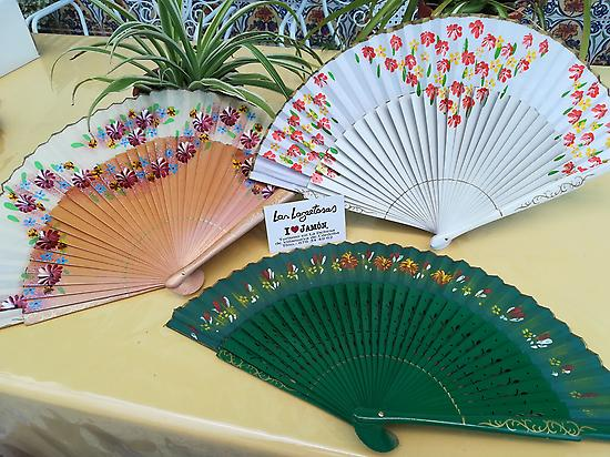 traditional Spanish fans