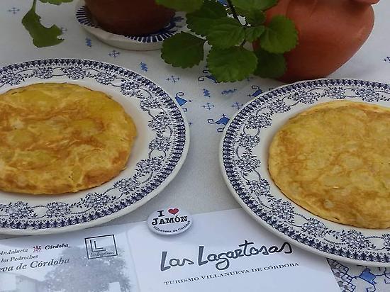 Dinner: spanish tortilla