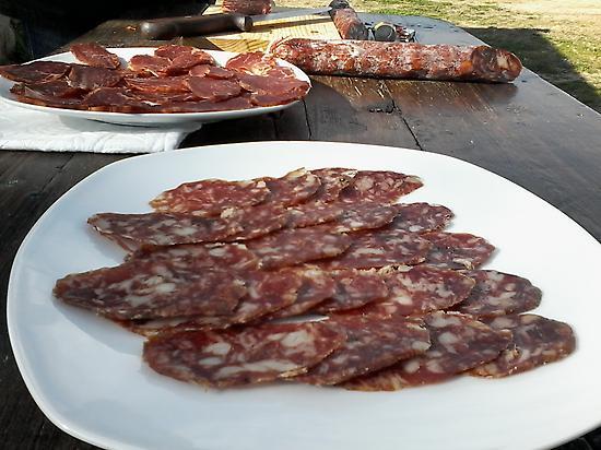 Iberian cured dinner