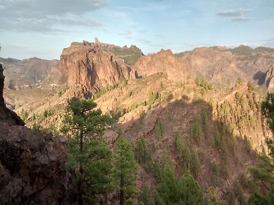 To the Roque Nublo