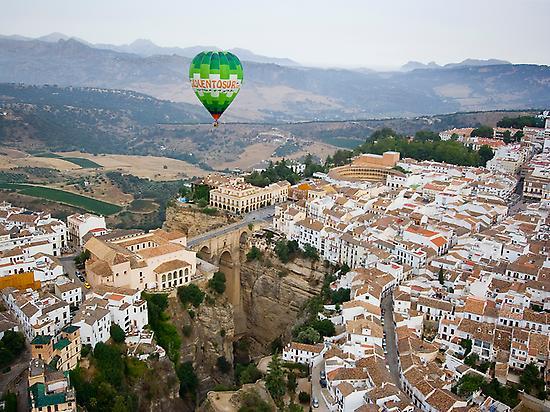 Vuelo en globo por Andalucía