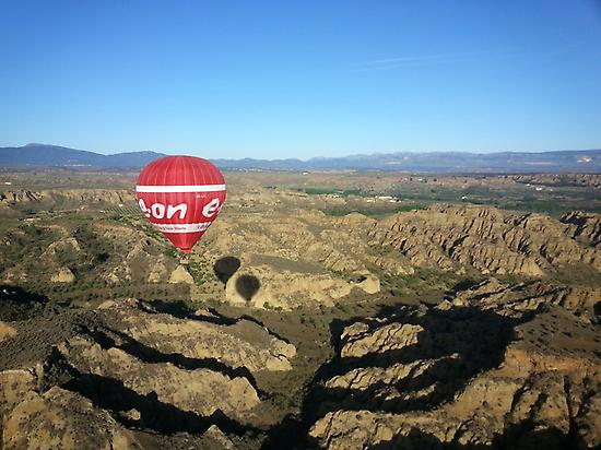 Balloon Flight Guadix Area