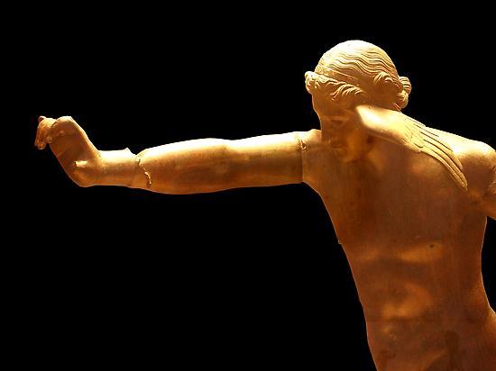 """Escultura del dios """"Hypnos"""" o """"Somnus"""""""