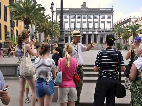 Ruta al casco histórico de Las Palmas
