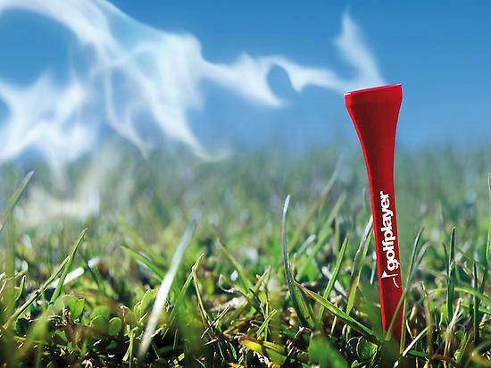 Golf Player poster