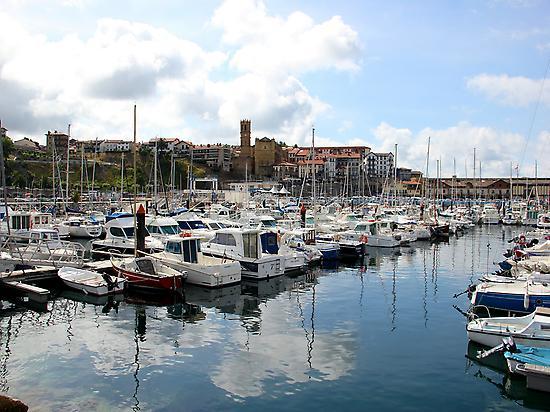The port of Getaria