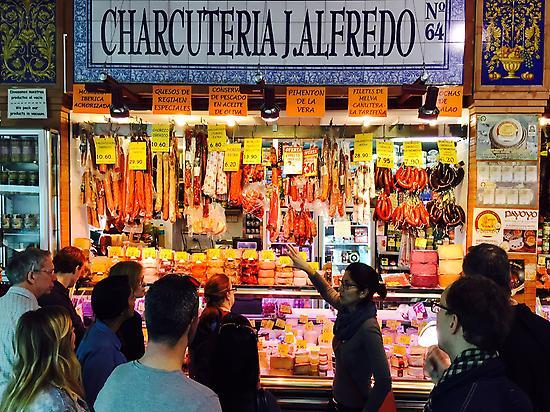 Visita al mercado de Triana