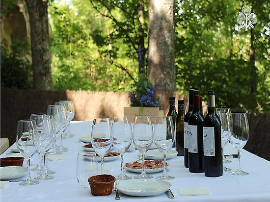 Lunch in the Ebro balcony