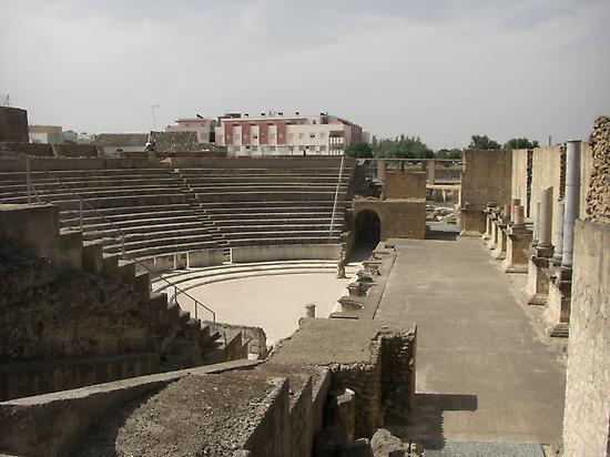 The Italica´s theater